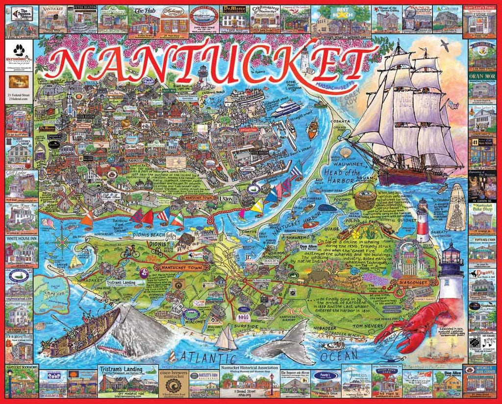 Nantucket, MA - 1000 Pieces