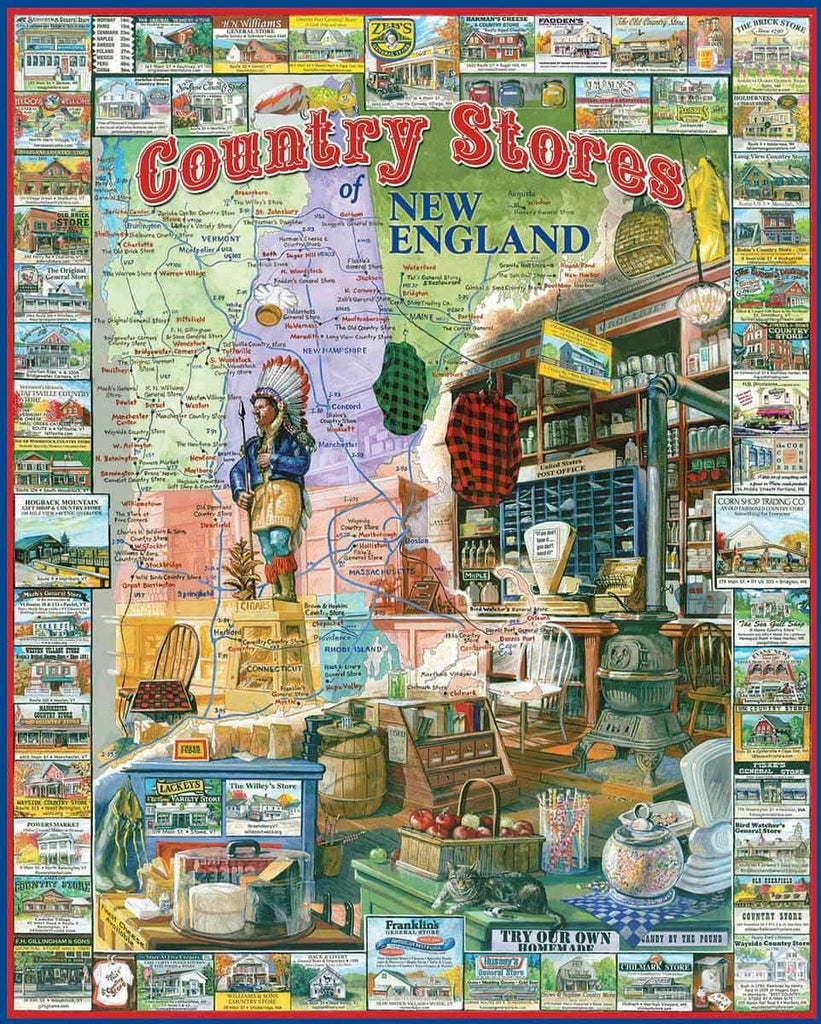 Country Stores of NE Poster