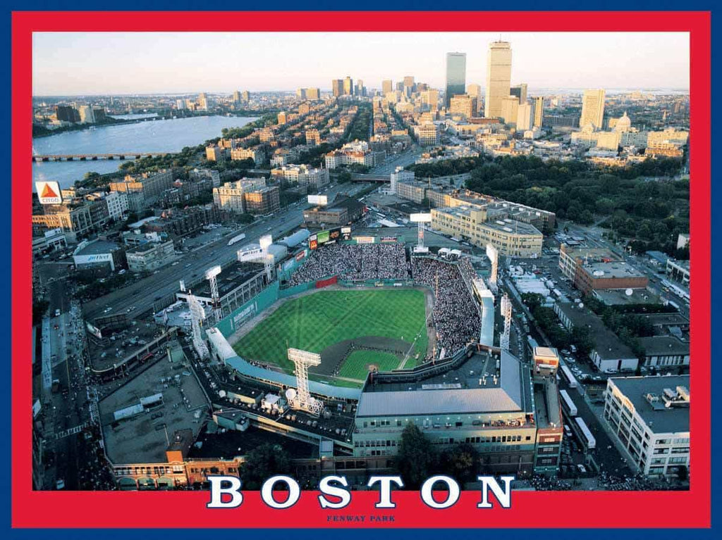 Boston - Fenway Park (643PZ) - 550 Piece Jigsaw Puzzle