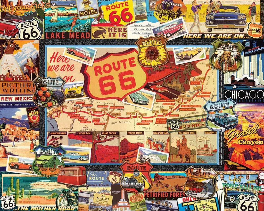 Route 66 - 1000 Pieces