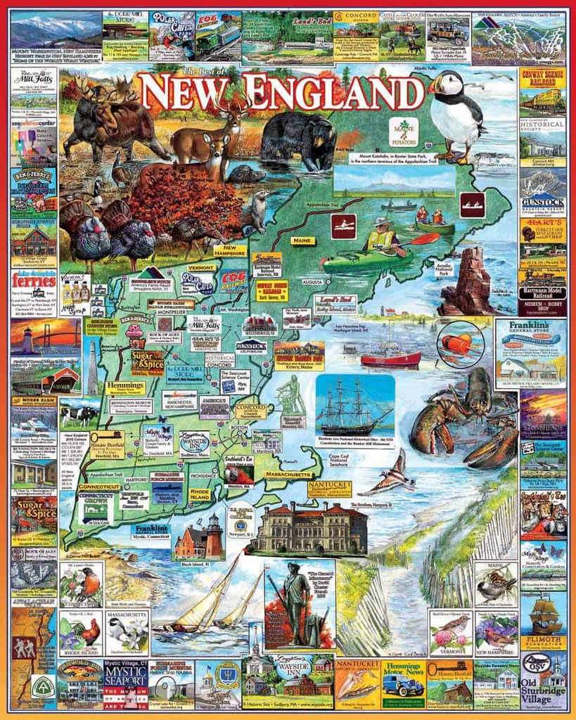 Best of New England - 1000 Pieces - DISC