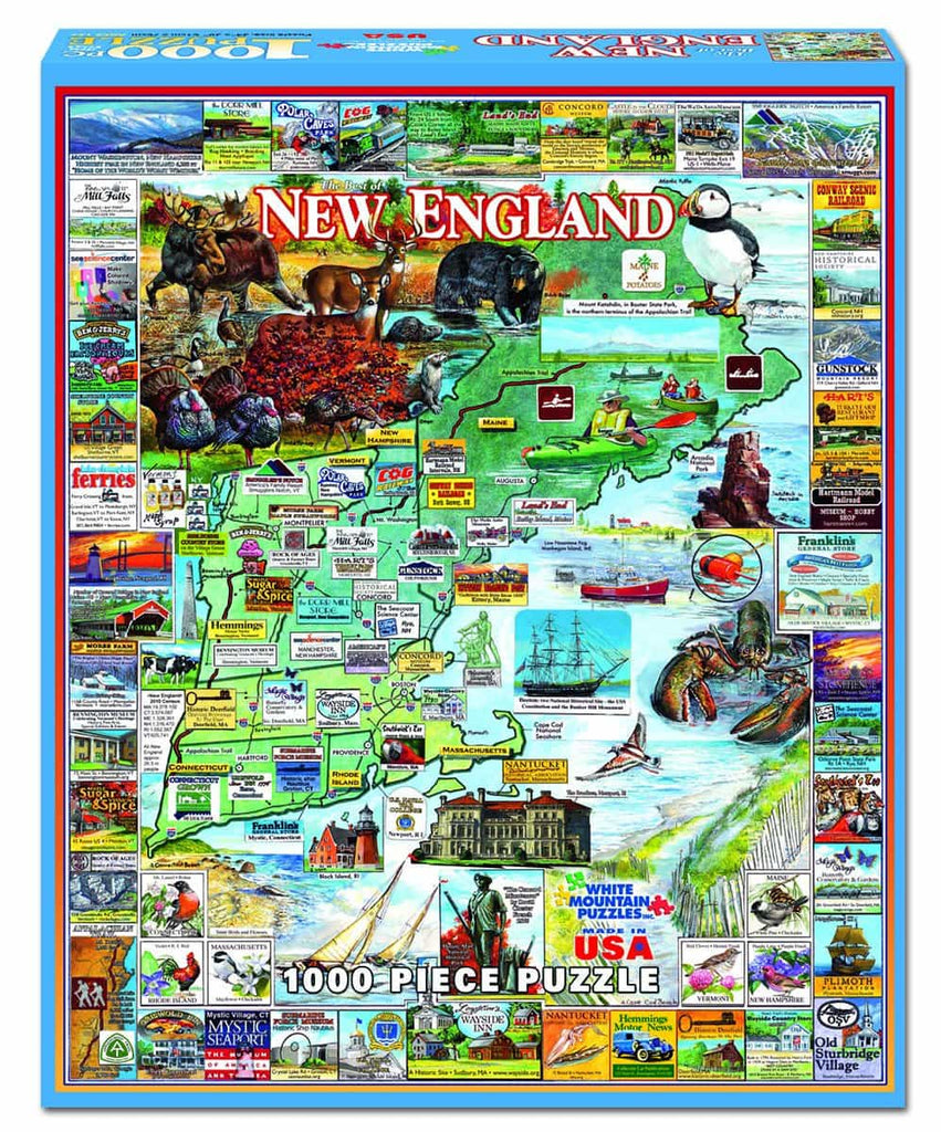Best of New England - 1000 Pieces