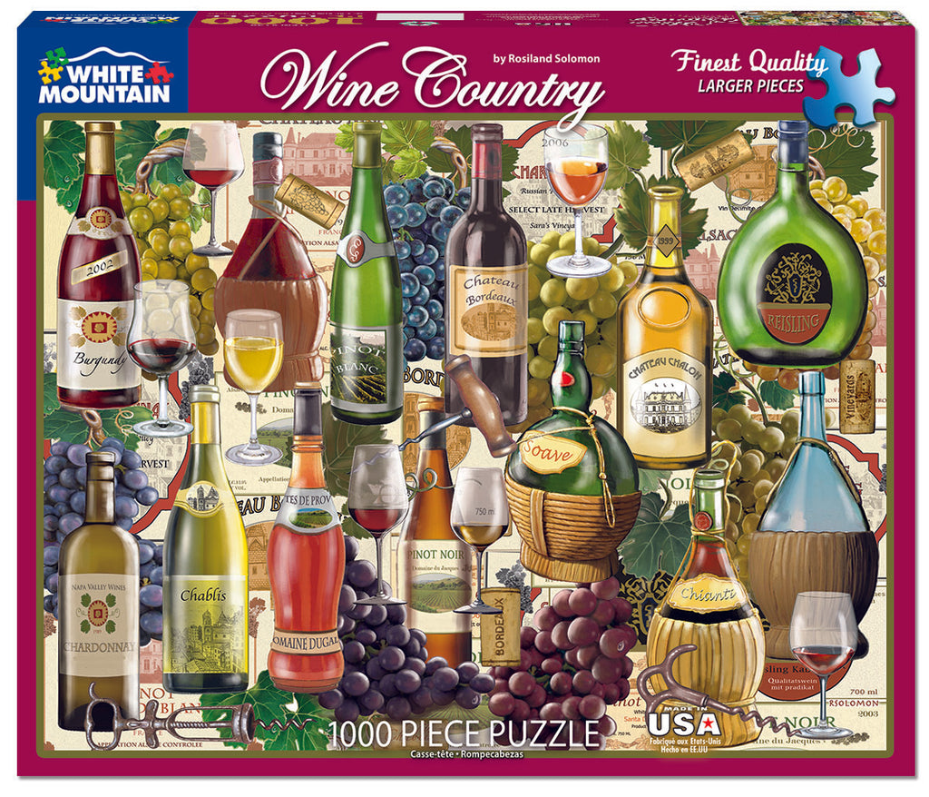 Wine Country (798PZ) - 1000 Piece Jigsaw Puzzle