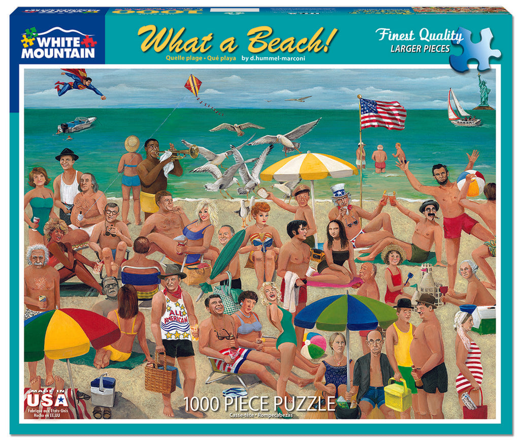 What a Beach! (801PZ) - 1000 Piece Jigsaw Puzzle