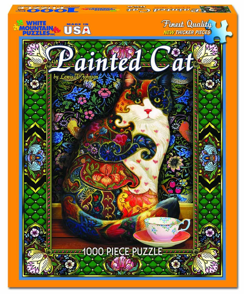 The Painted Cat -disc - 1000 Pieces