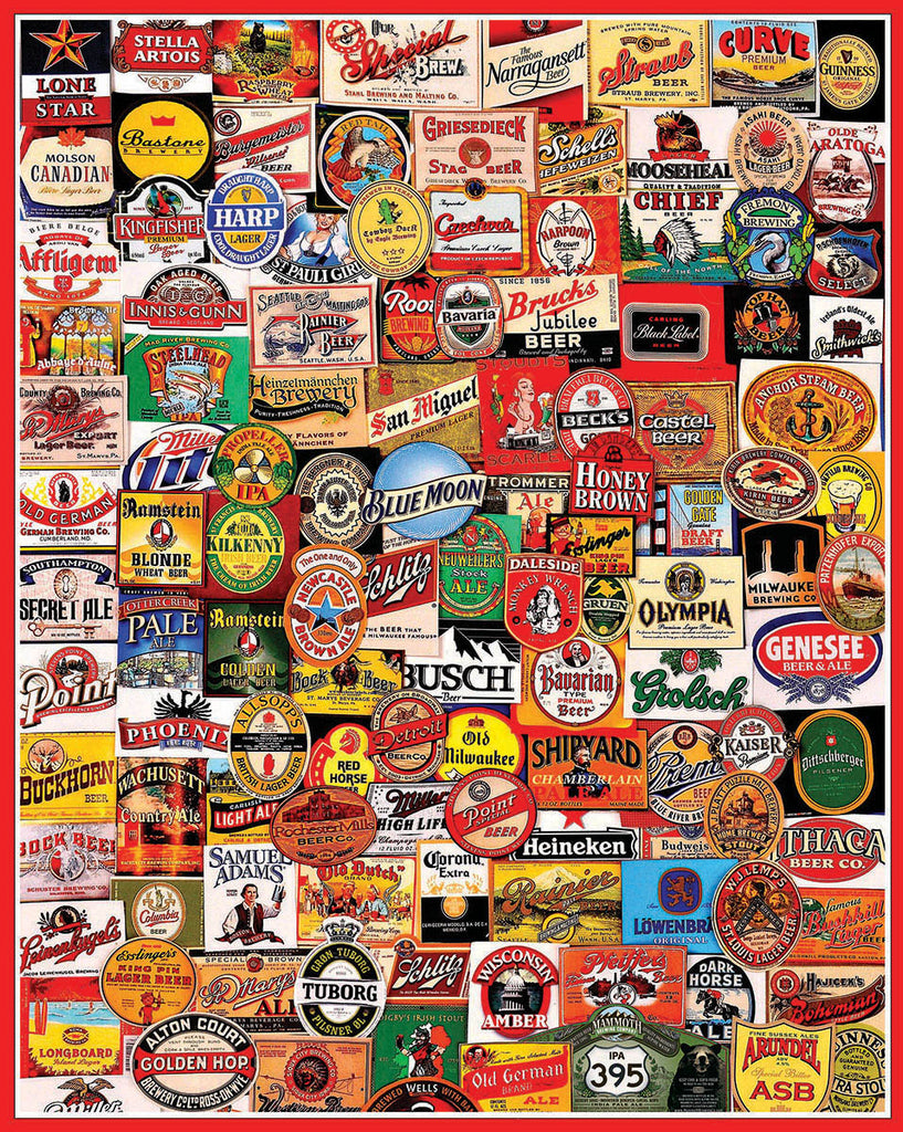 "Cheers (861t) - 1000 Piece Jigsaw Puzzle - (Small 20""x27"" Format)"