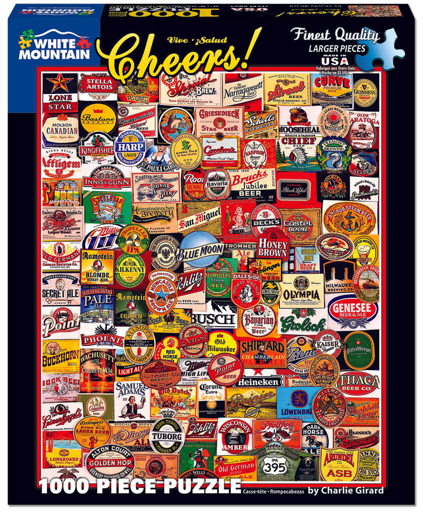 Cheers! (861PZ) - 1000 Piece Jigsaw Puzzle