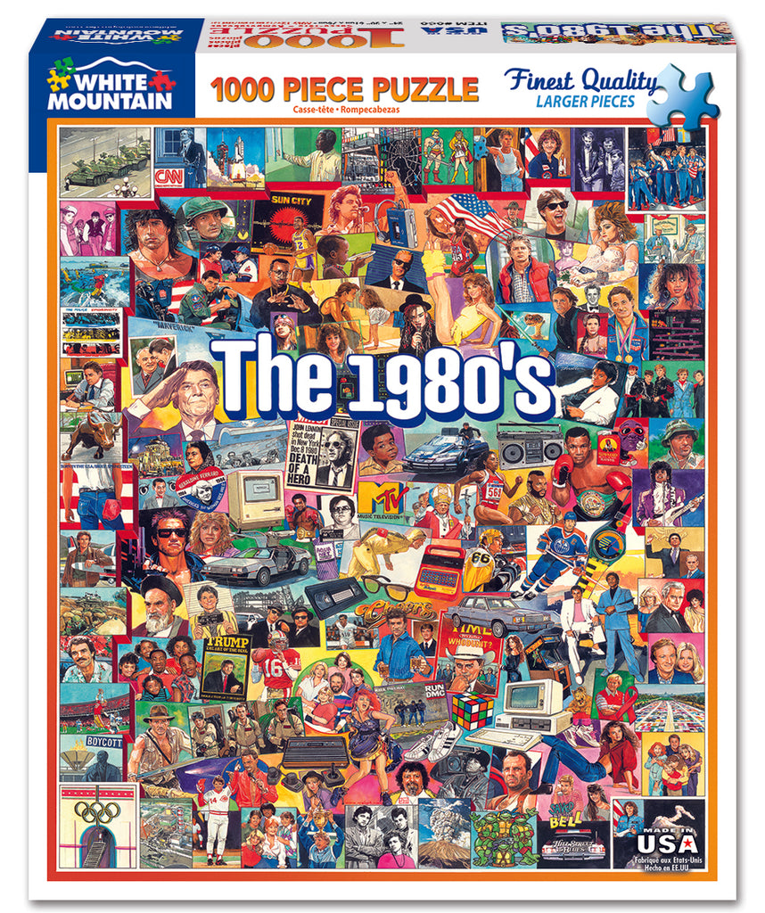 The Eighties (868PZ) - 1000 Piece Jigsaw Puzzle