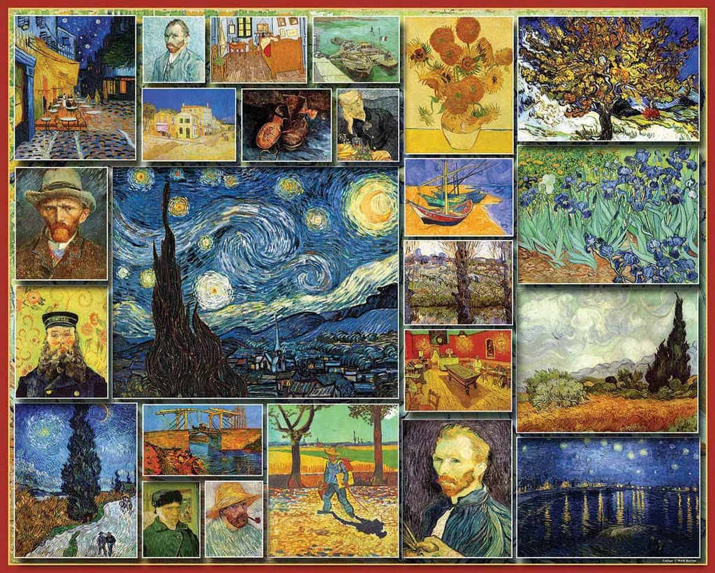 Van Gogh - 1000 Pieces