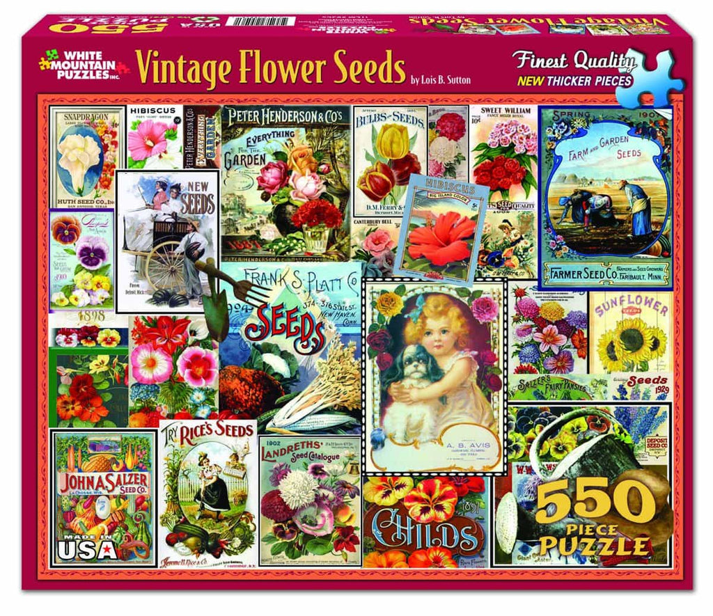 Vintage Flower Seeds - DISCONTINUED