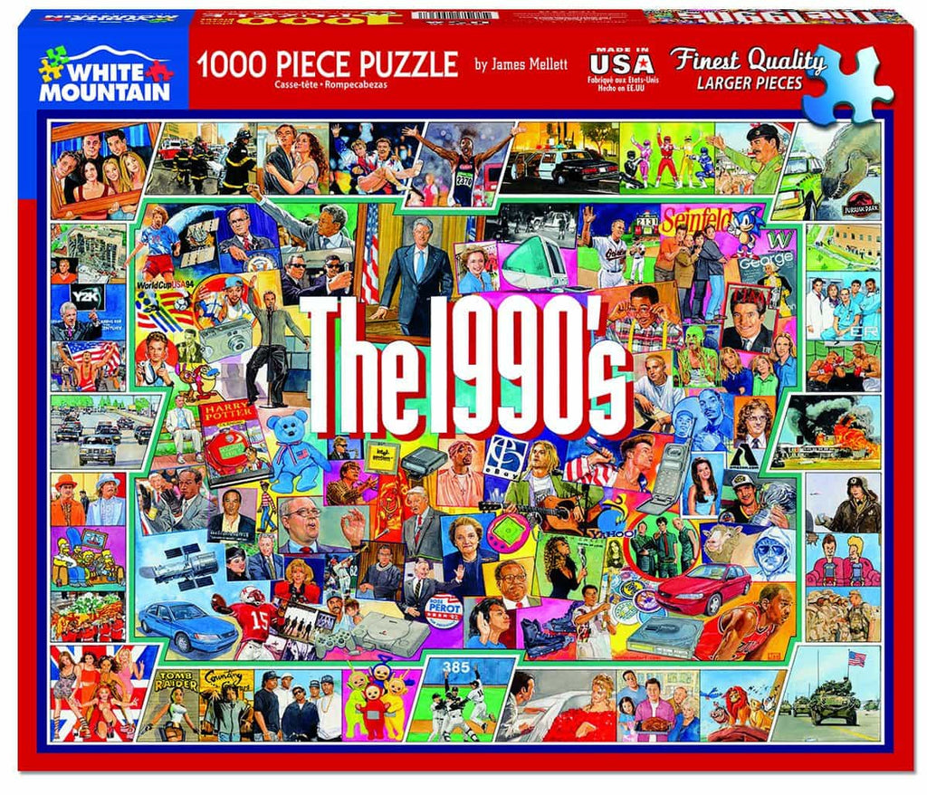 The Nineties (959PZ) - 1000 Piece Jigsaw Puzzle