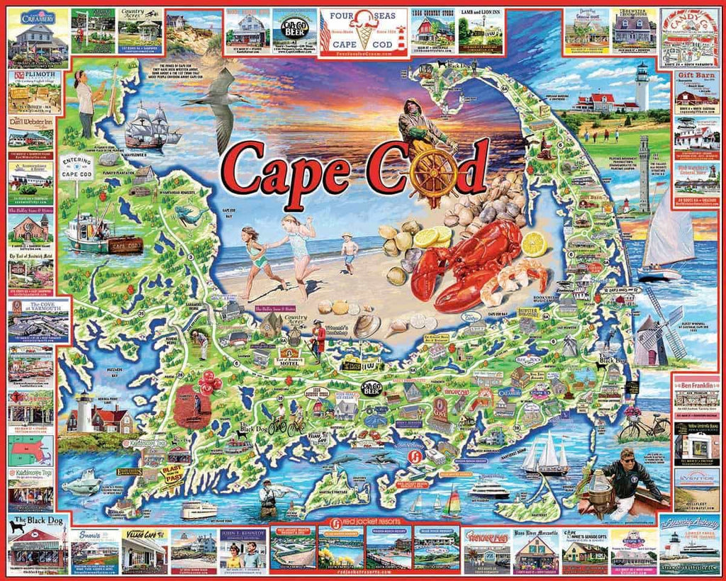 Cape Cod (969PZ) - 1000 Pieces