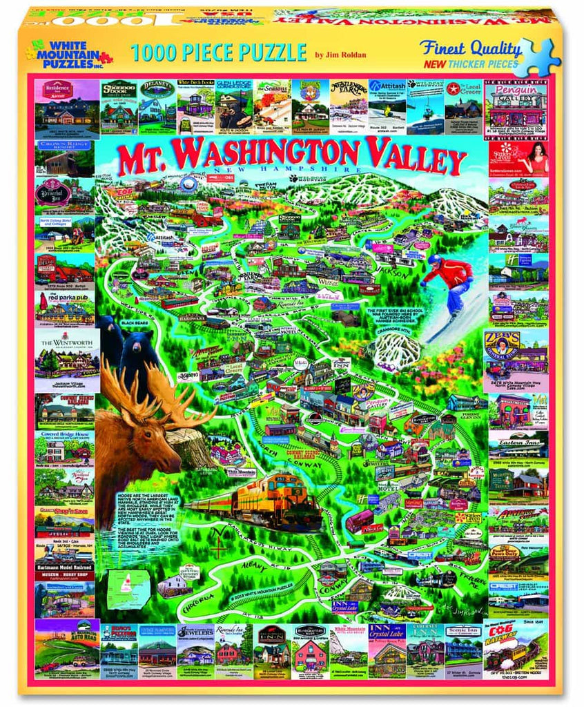 Mount Washington Valley - 1000 Pieces