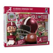 Alabama Crimson Tide Retro Series (950066) - 500 Piece Jigsaw Puzzle