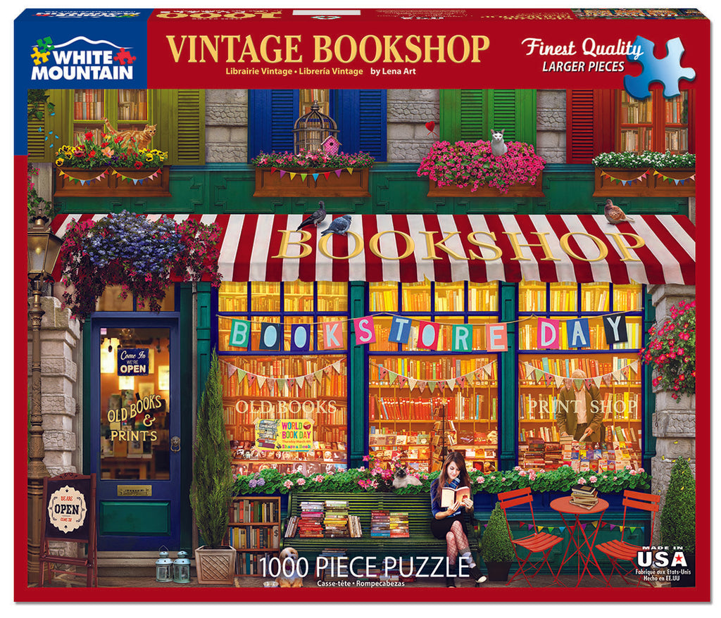 Vintage Bookshop  (1488PZ) - 1000 Pieces