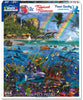 Tropical Treasures (1517pz) - Seek & Find - 1000 Piece Jigsaw Puzzle