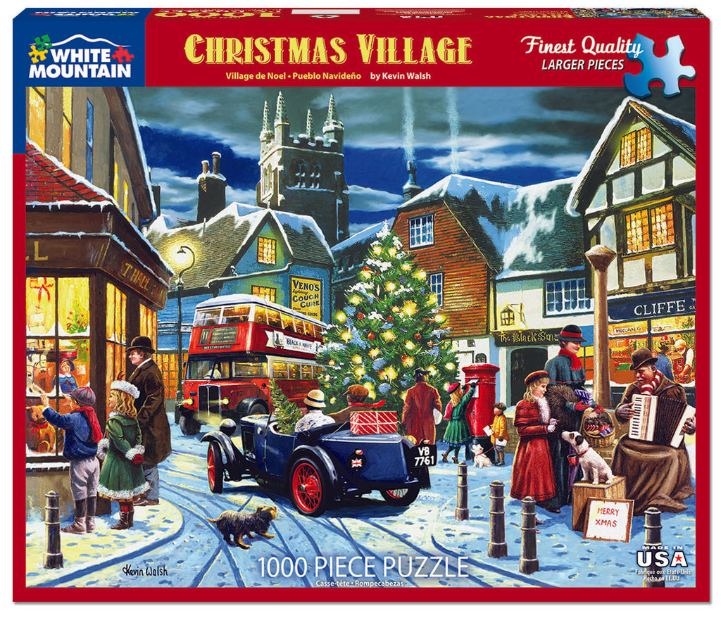 Christmas Village (1521pz) - 1000 Piece Jigsaw Puzzle