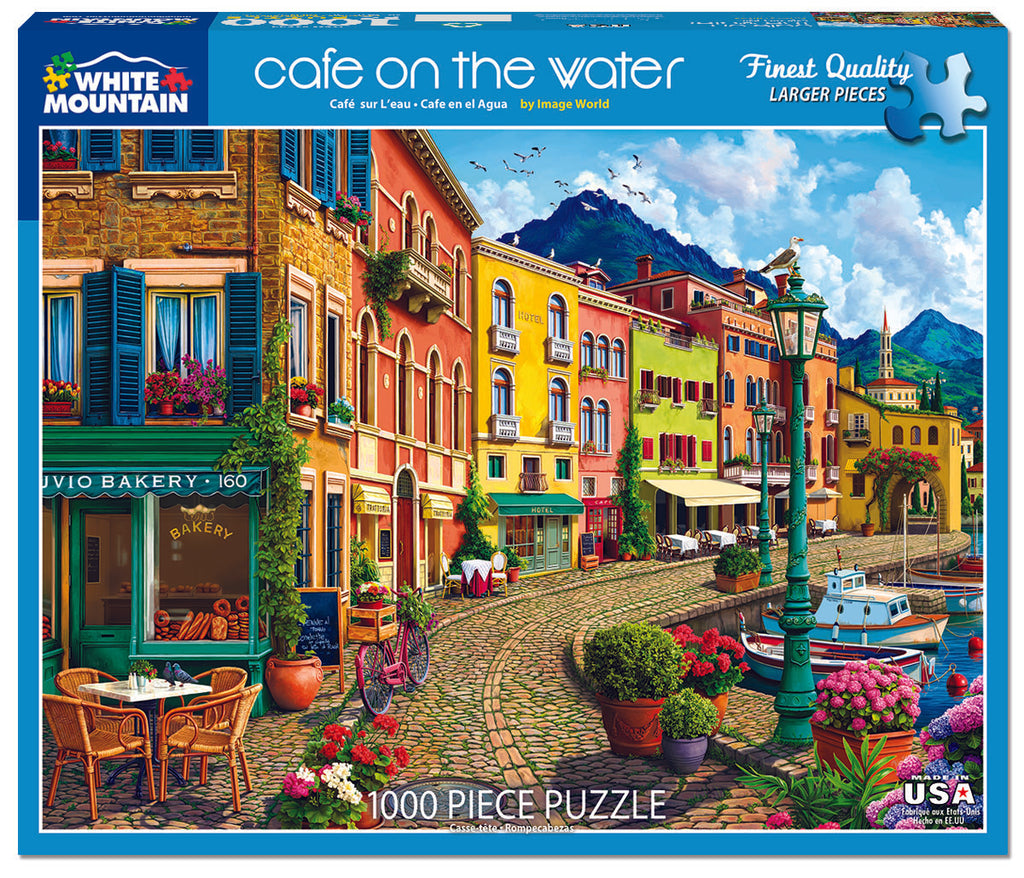 Cafe on The Water (1522pz) - 1000 Pieces