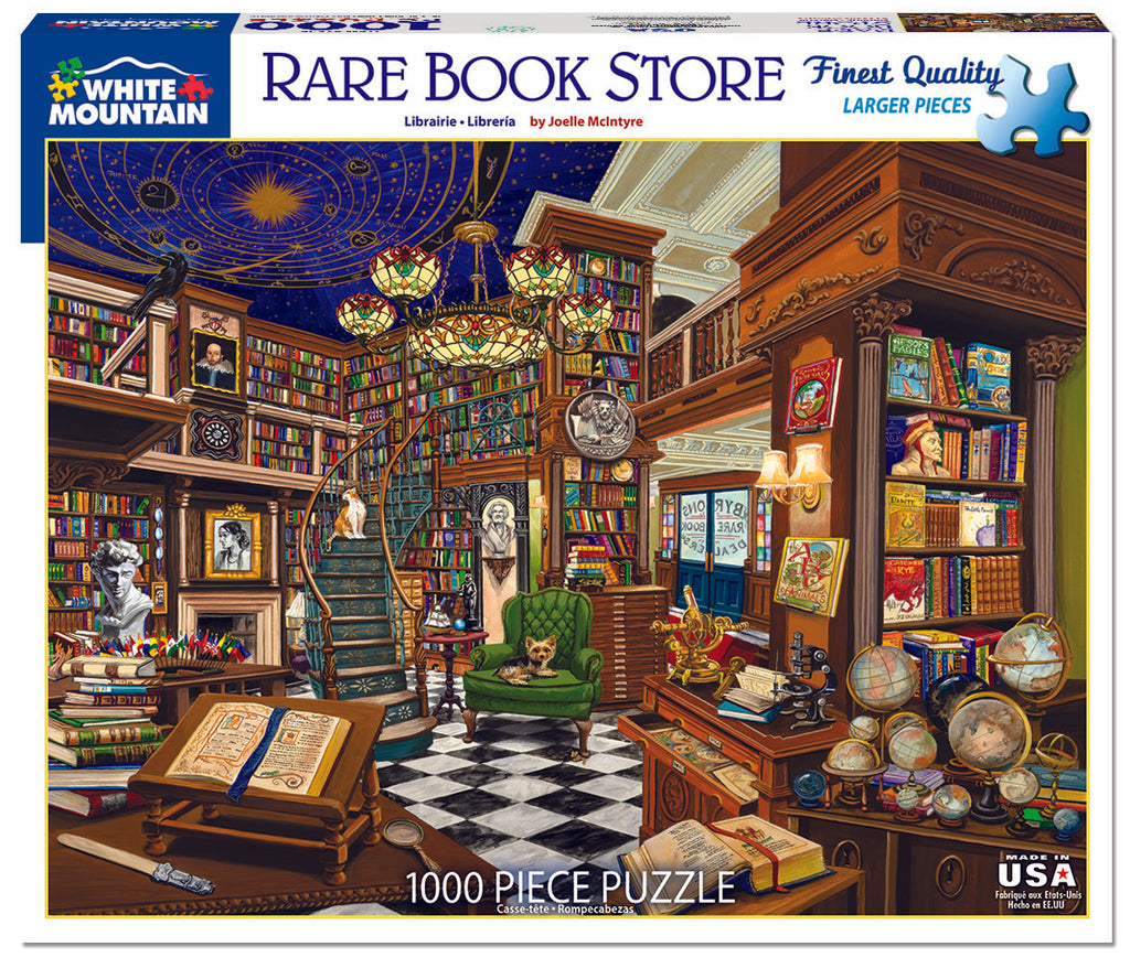 Rare Book Store (1526pz) - 1000 Pieces