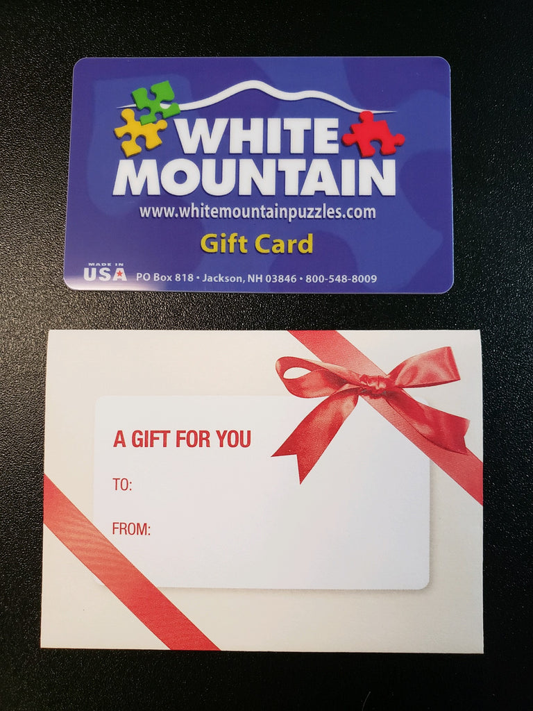 Physical Gift Card*