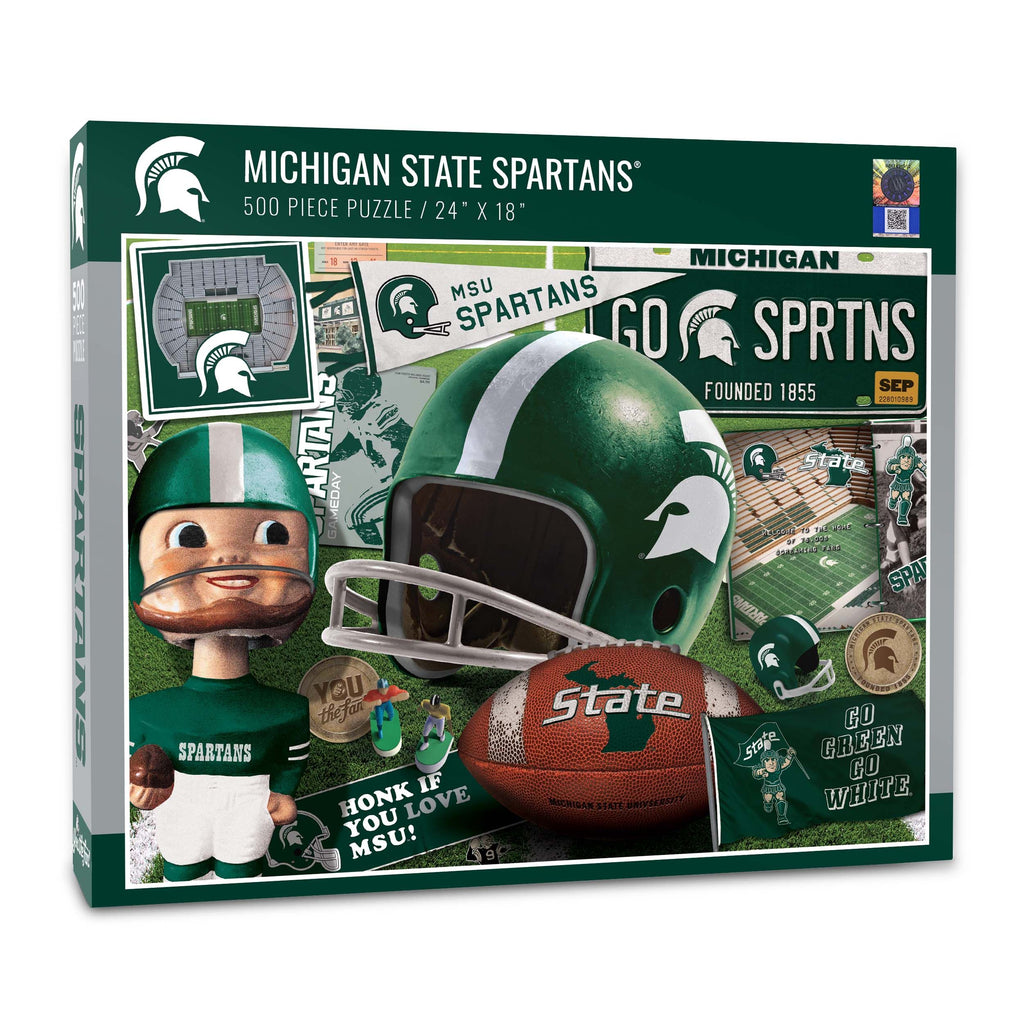 Michigan State Spartans (950080)  - 500 Piece Puzzle