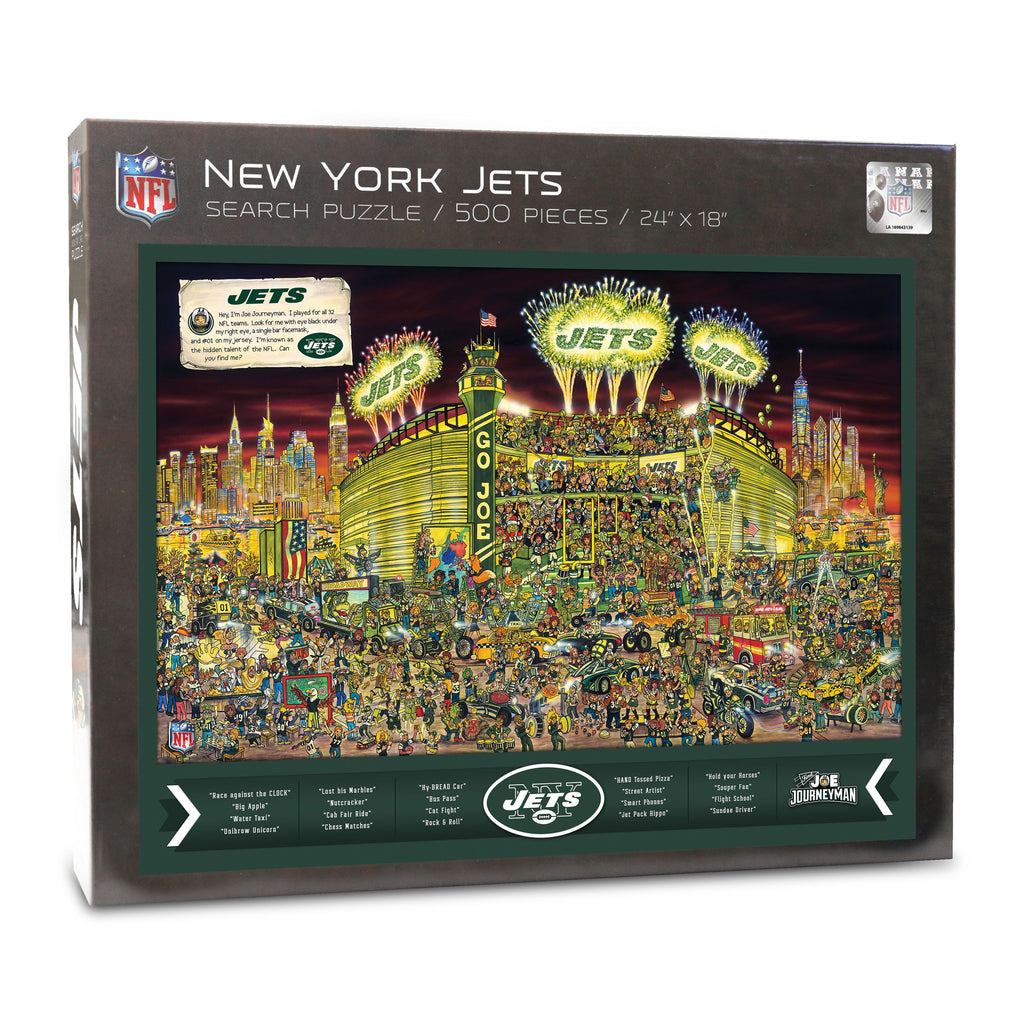 New York Jets (9029601) - 500 Piece Jigsaw Puzzle