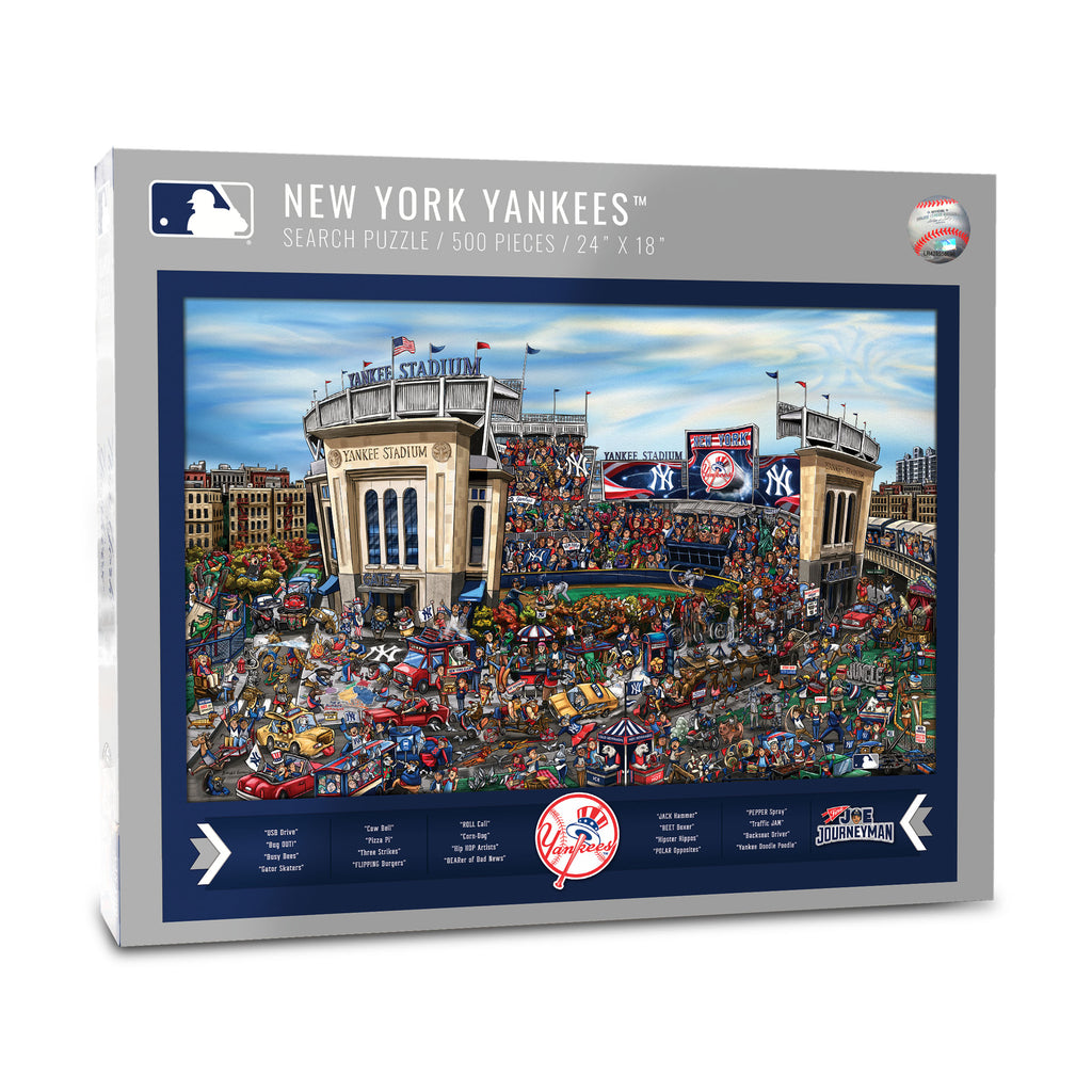 NY Yankees Puzzle - Find Joe Journeyman