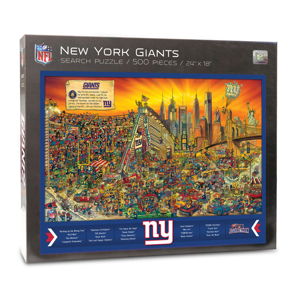 NY Giants Puzzle (9029595) - 500 Piece Jigsaw Puzzle
