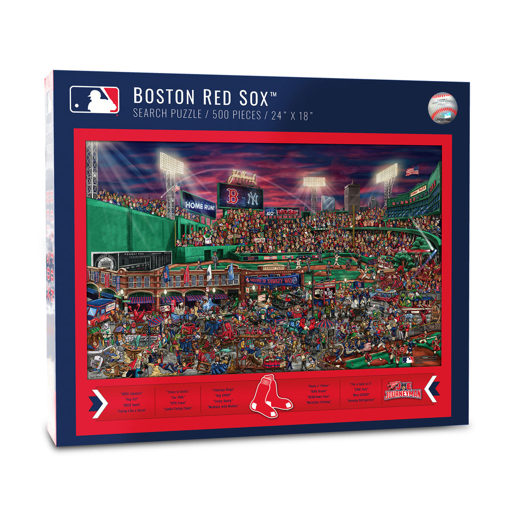 Boston Red Sox (5021183) - 500 Piece Jigsaw Puzzle