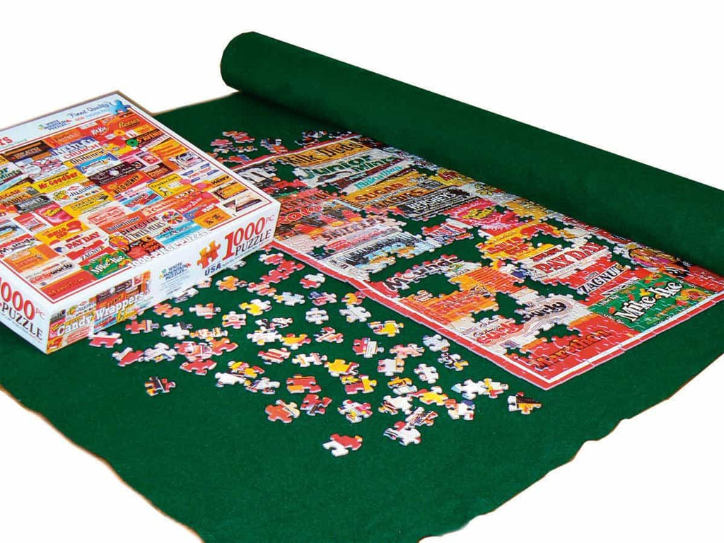 Jigsaw Puzzle Roll Up Mat White Mountain Puzzles