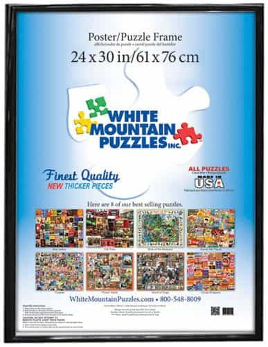 24x30 Frame -Made for White Mountain Puzzles only
