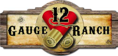 12 Gauge Ranch Decal, Accessories, 12 Gauge Ranch, 12 Gauge Ranch Ranch  12 Gauge Ranch