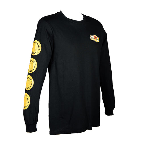12 Gauge Ranch Men's Black Long Sleeve Shirt (LSGBK101), Apparel, 12 Gauge Ranch, 12 Gauge Ranch 12 Gauge Ranch
