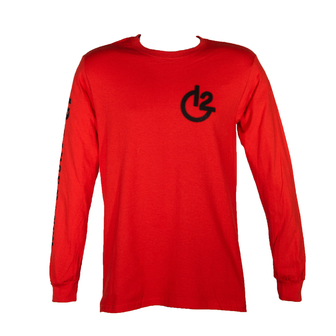 Red 12 Gauge Ranch Long Sleeve Shirt (12GARDLS), Apparel, 12 Gauge Ranch, 12 Gauge Ranch 12 Gauge Ranch