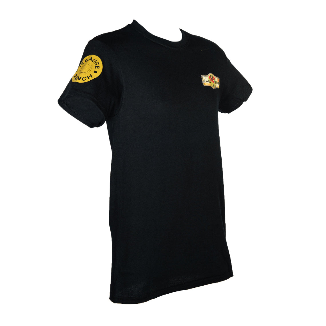 12 Gauge Ranch Black Short Sleeve Shirt (SSGBK101), Apparel, 12 Gauge Ranch, 12 Gauge Ranch Ranch  12 Gauge Ranch