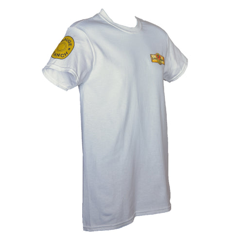 12 Gauge Ranch White Short Sleeve Shirt (SSGWT101), Apparel, 12 Gauge Ranch, 12 Gauge Ranch 12 Gauge Ranch