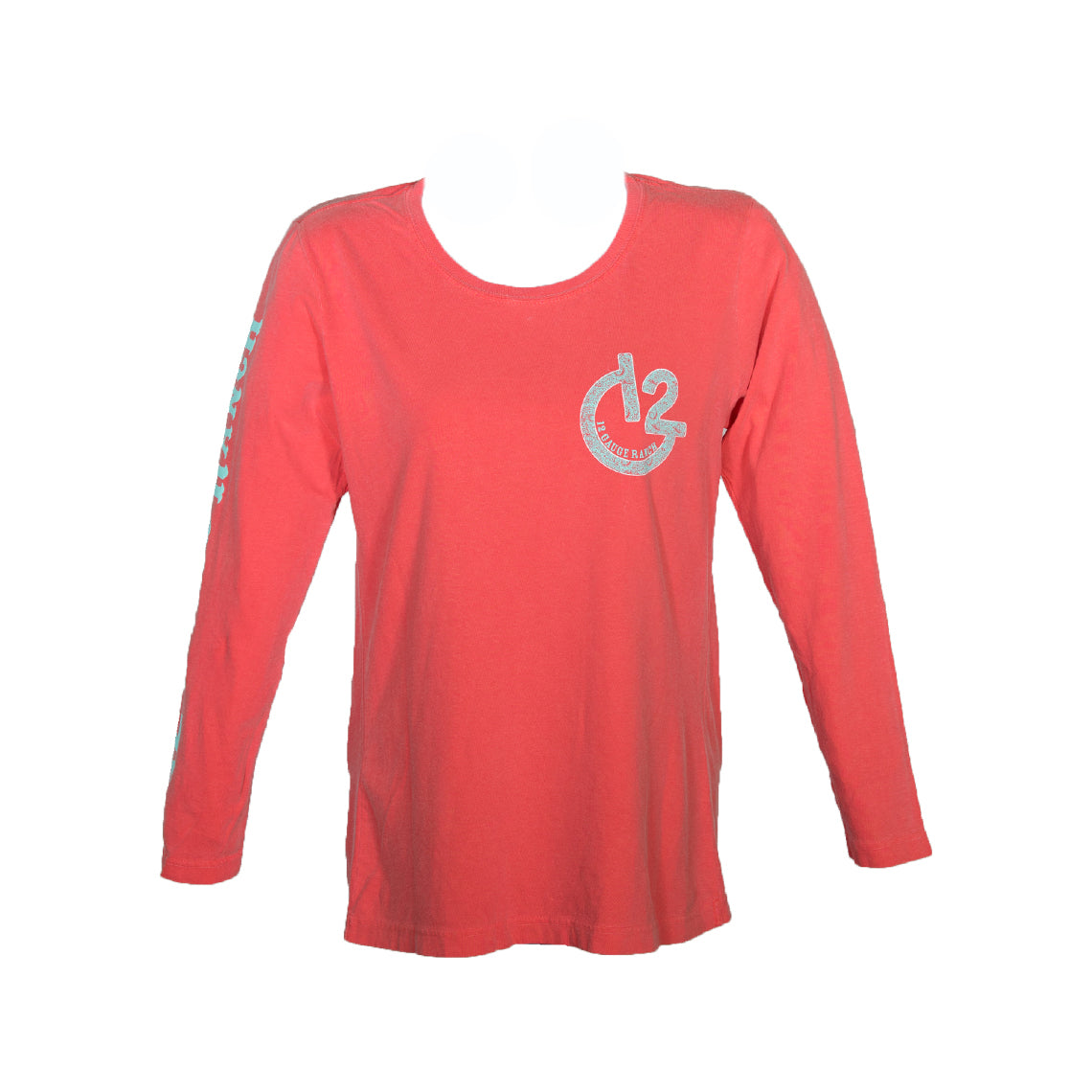 Paisley G12 Watermelon Long Sleeve Shirt, Apparel, 12 Gauge Ranch, 12 Gauge Ranch Ranch  12 Gauge Ranch