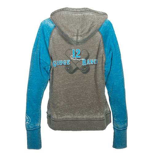 12 Gauge Ranch Blue & Grey Hoodie, Apparel, 12 Gauge Ranch, 12 Gauge Ranch Ranch  12 Gauge Ranch
