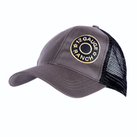 12 Gauge Ranch Aztec Navy and White Low Profile Baseball Hat