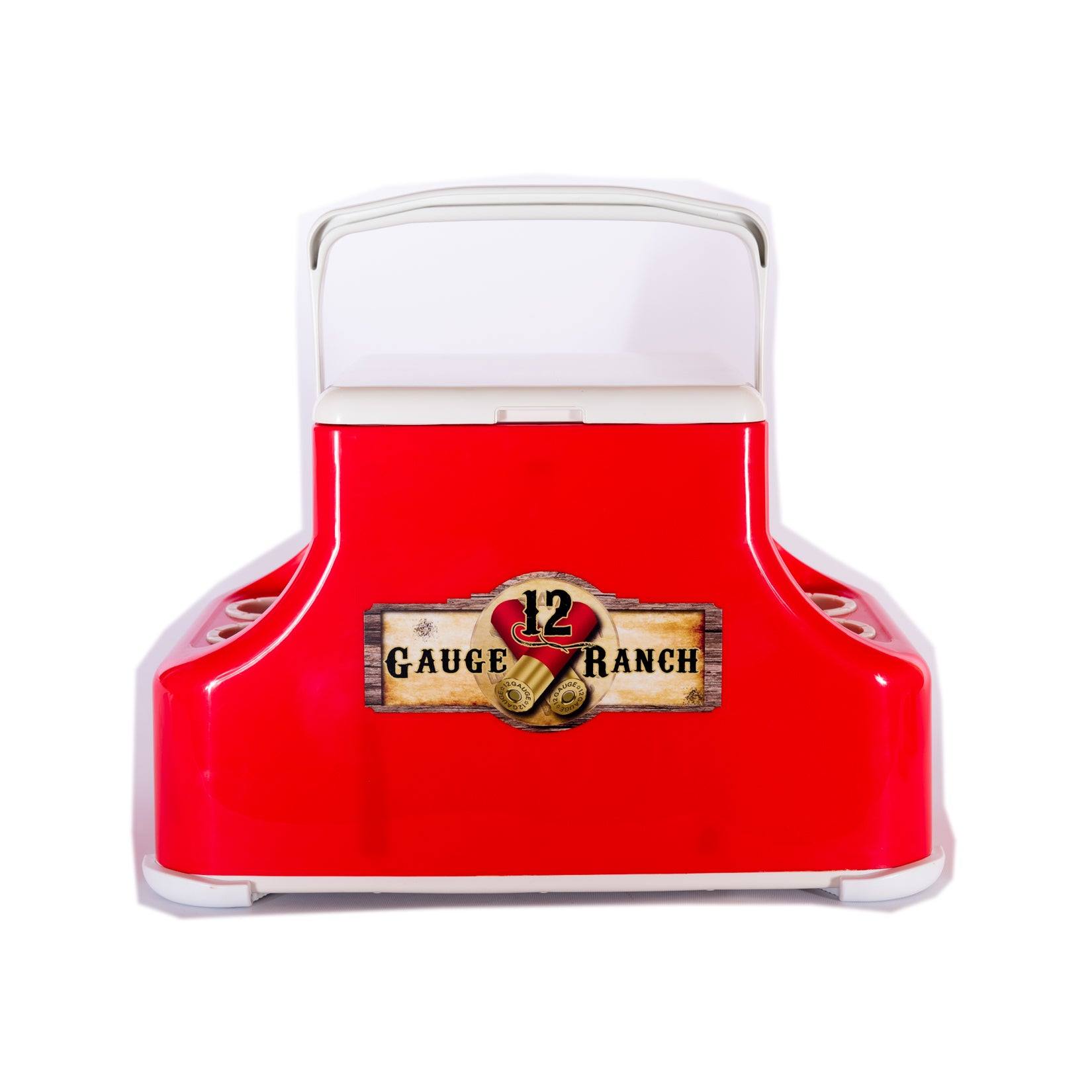 12 Gauge Ranch Red Arcticor Cooler (RDCLRTR), Accessories, 12 Gauge Ranch, 12 Gauge Ranch 12 Gauge Ranch