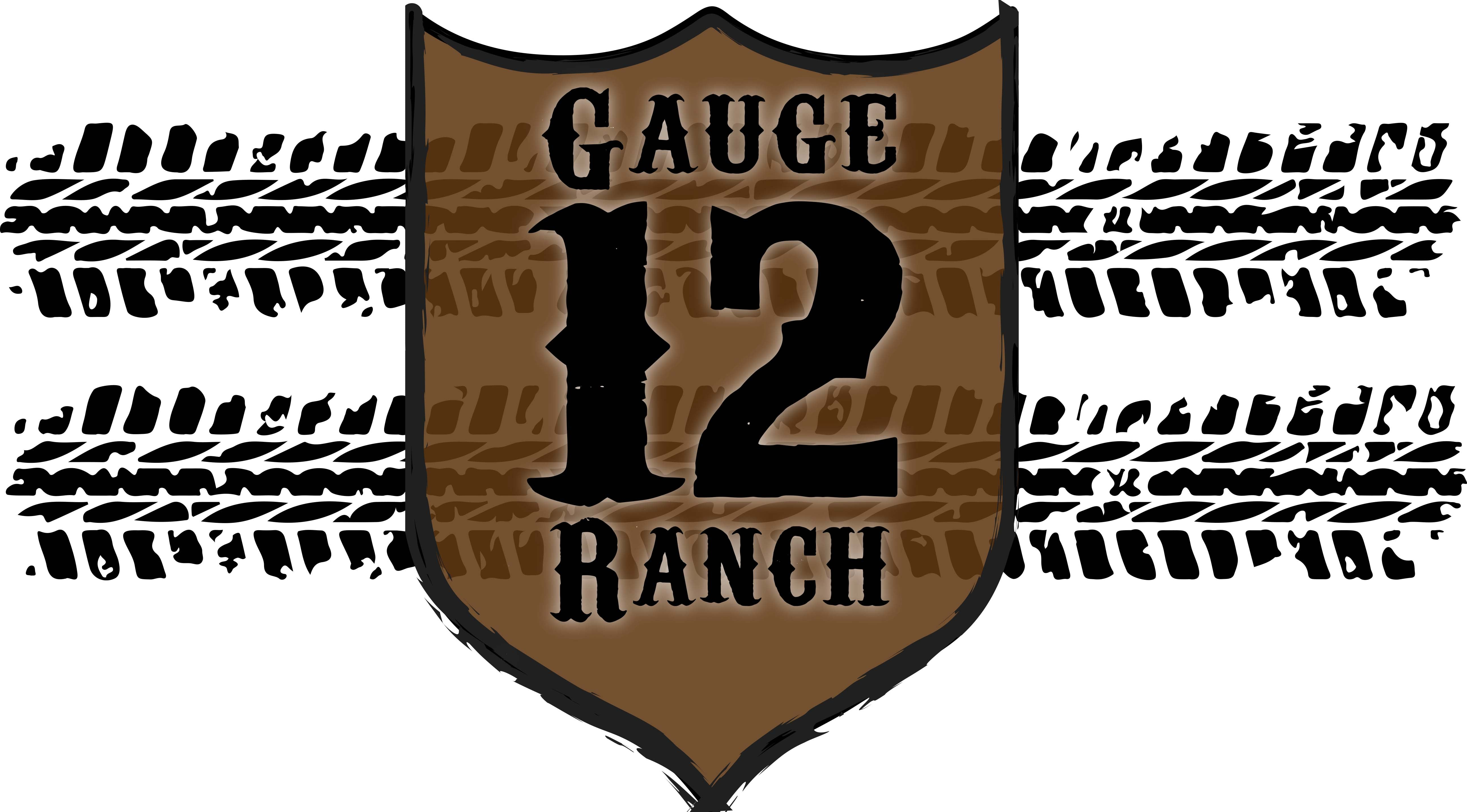 Tire Tracks With 12 Gauge Plate 16oz Insulated Covo Cup 12 Gauge Ranch Ranch