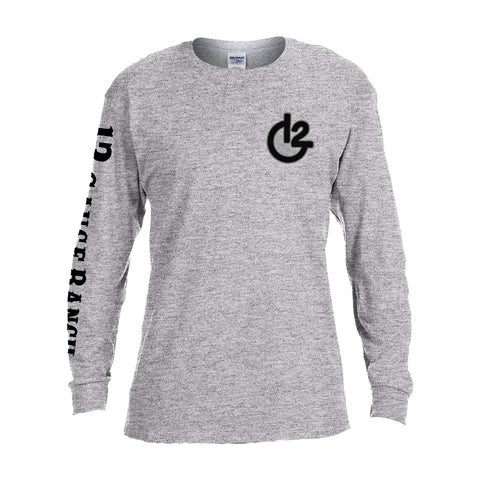12 Gauge Ranch G12 White Long Sleeve