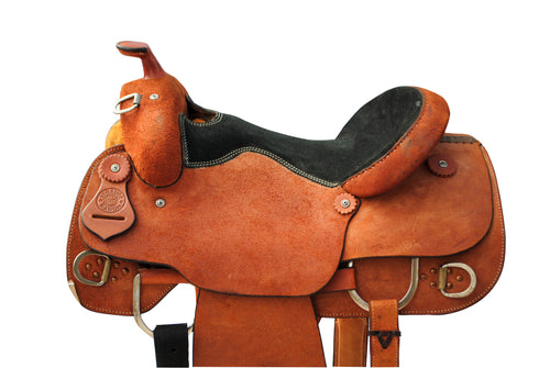 "12 Gauge Elite Custom Work Saddle 15.5"" (ELSDDL01), Saddle, 12 Gauge Ranch, 12 Gauge Ranch 12 Gauge Ranch"
