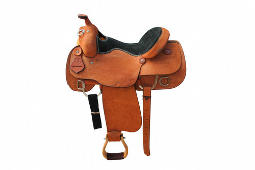 "12 Gauge Elite Custom Work Saddle 16"" (ELSDDL00), Saddle, 12 Gauge Ranch, 12 Gauge Ranch 12 Gauge Ranch"