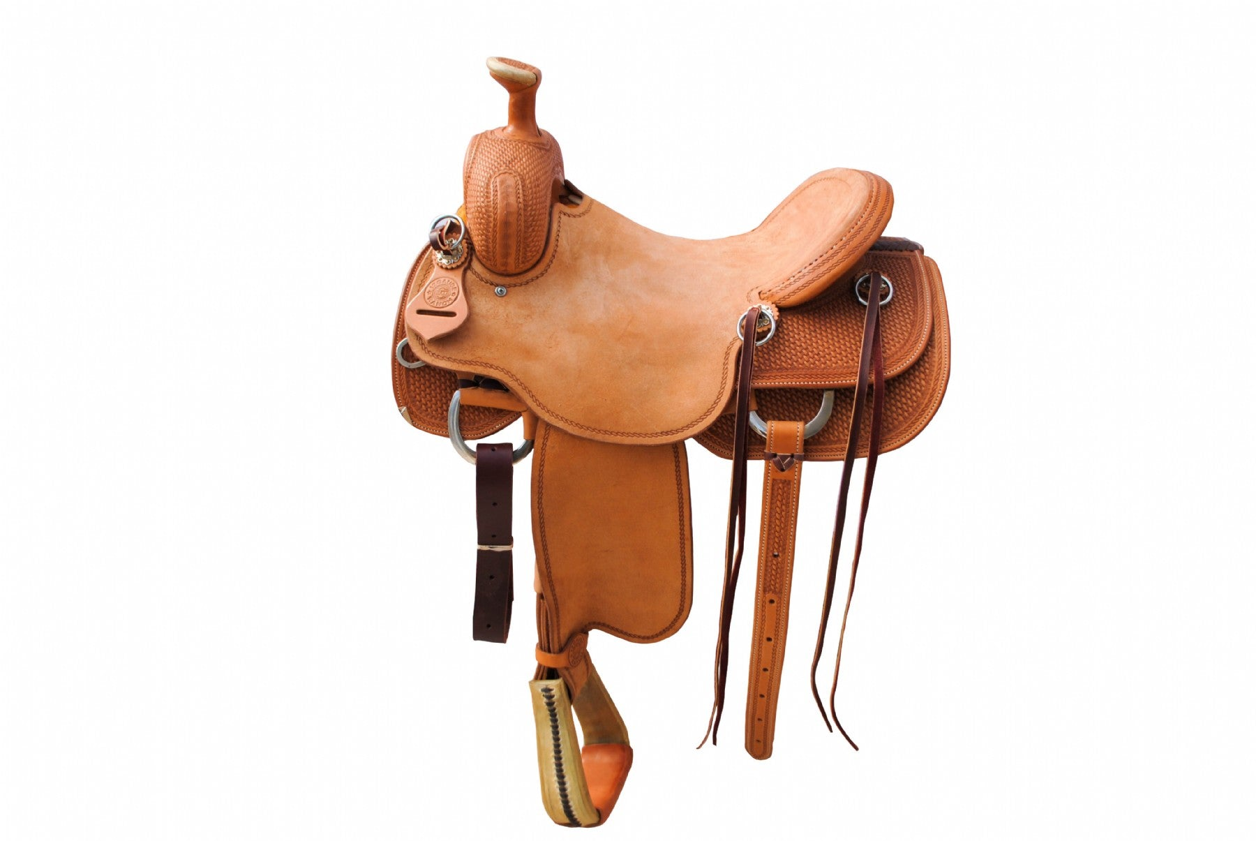 "12 Gauge Elite Custom Cutting Saddle 16.5"" (ELSDDL02), Saddle, 12 Gauge Ranch, 12 Gauge Ranch 12 Gauge Ranch"