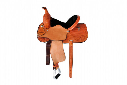 "12 Gauge Elite Custom Barrel Saddle 14"" (ELSDDL06), Saddle, 12 Gauge Ranch, 12 Gauge Ranch Ranch  12 Gauge Ranch"