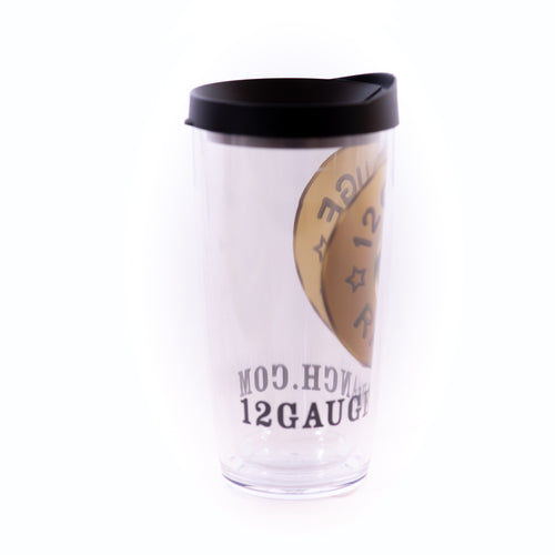 12 Gauge Bullet 16oz Insulated Covo Cup, Accessories, 12 Gauge Ranch, 12 Gauge Ranch Ranch  12 Gauge Ranch