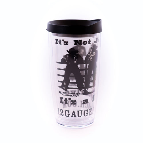 Cowboy Lifestyle 16oz Insulated Covo Cup, Accessories, 12 Gauge Ranch, 12 Gauge Ranch Ranch  12 Gauge Ranch