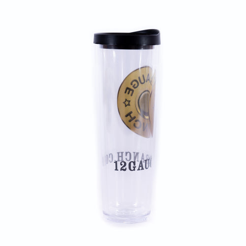 12 Gauge Bullet 24oz Insulated Covo Cup, Accessories, 12 Gauge Ranch, 12 Gauge Ranch Ranch  12 Gauge Ranch