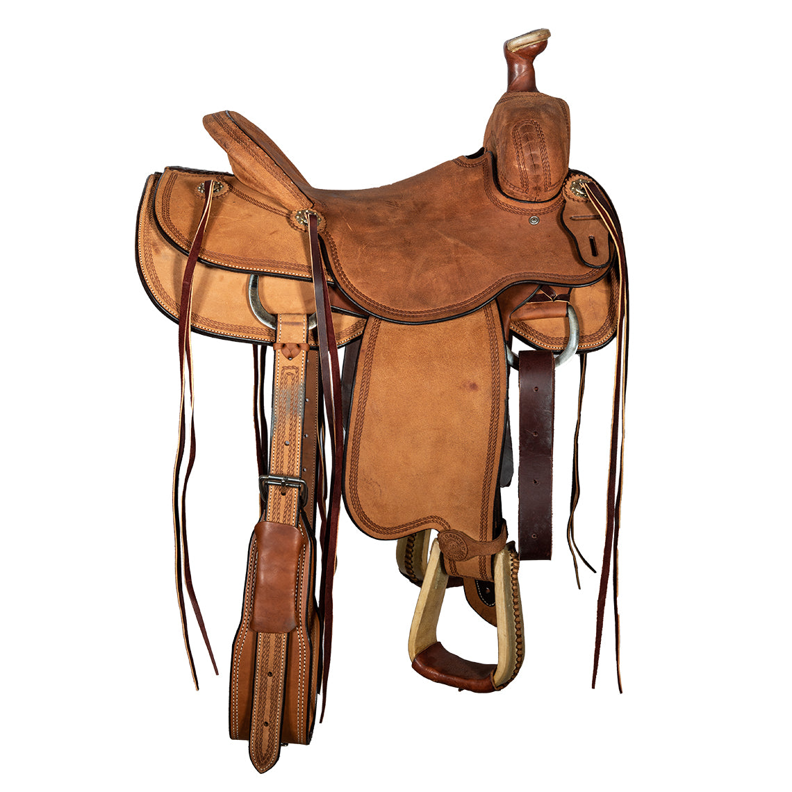 "12 Gauge Elite Custom Will James Saddle 15.5"" (ELSDDL10), Saddle, 12 Gauge Ranch, 12 Gauge Ranch Ranch  12 Gauge Ranch"